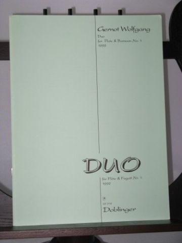 Wolfgang G - Duo for Flute & Bassoon No 1